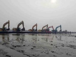 中石化江汉油建工程施工案例